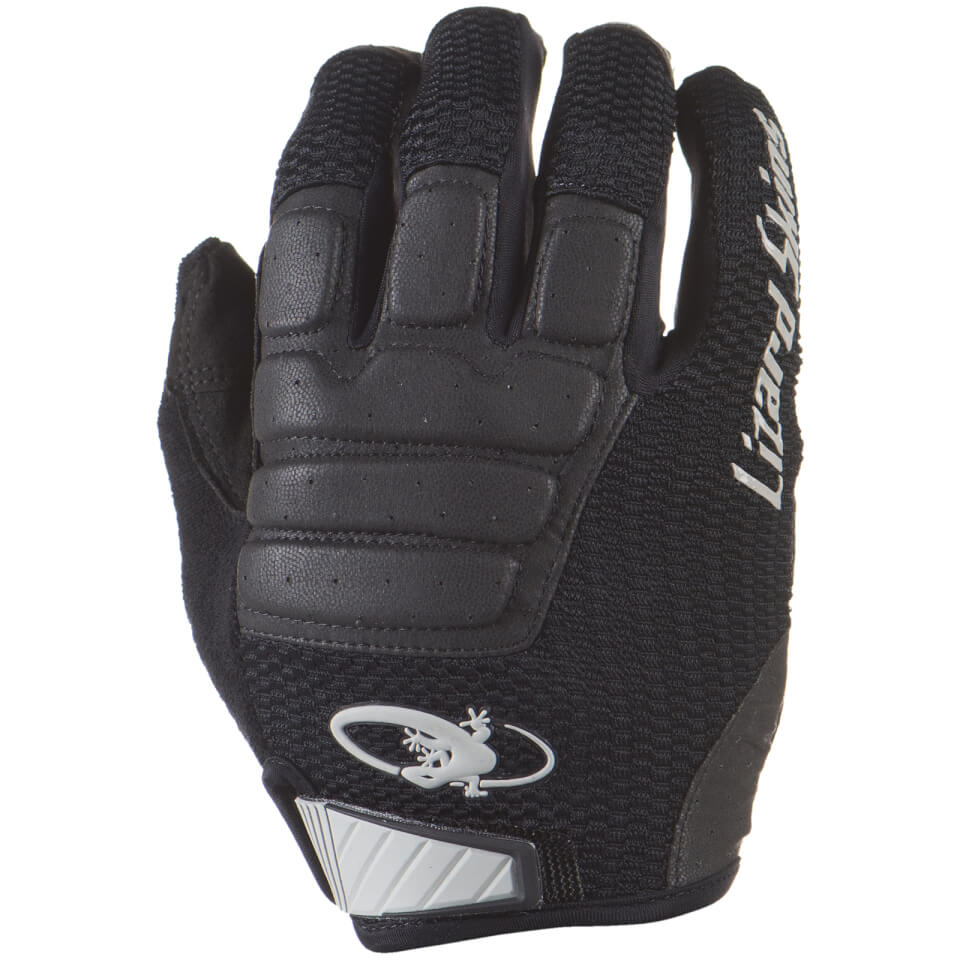 Lizard Skins Monitor HD MTB Gloves - Jet Black | Gloves