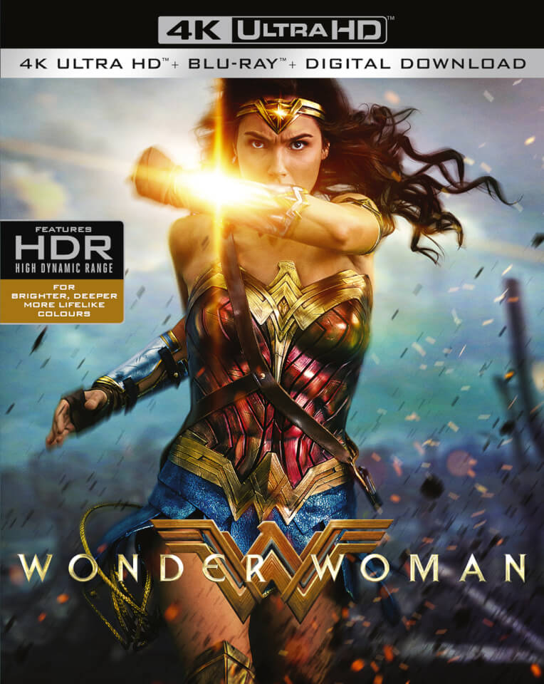 wonder woman 4k ultra hd digital download blu ray. Black Bedroom Furniture Sets. Home Design Ideas