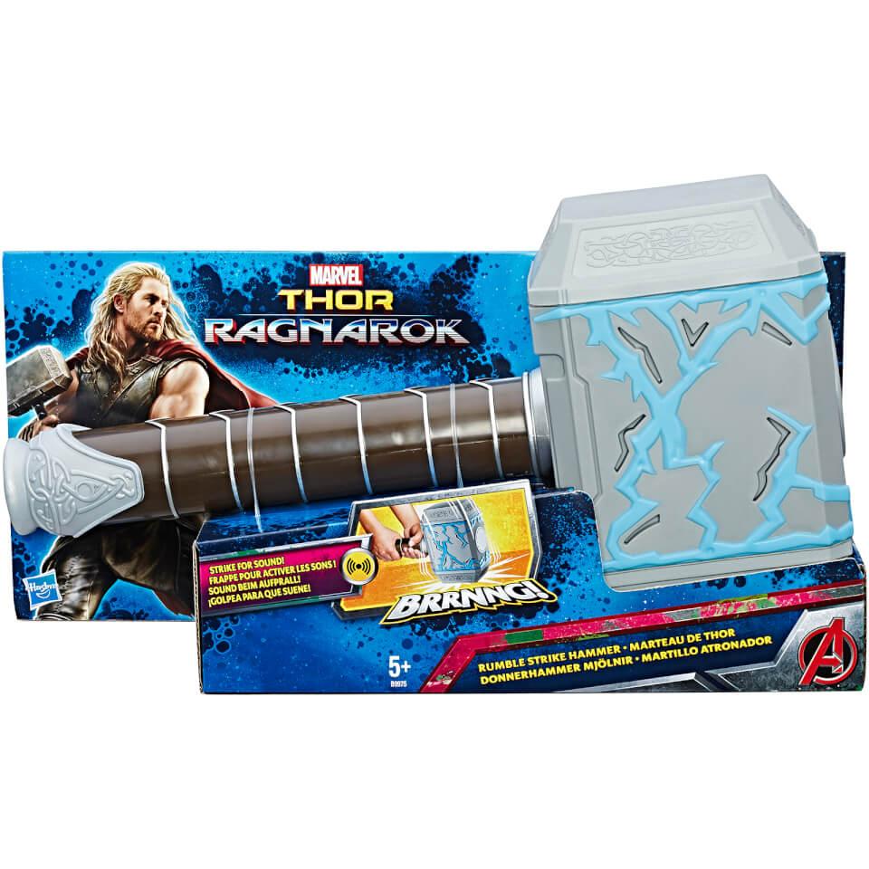 marvel avengers thor ragnarok thor rumble strike hammer