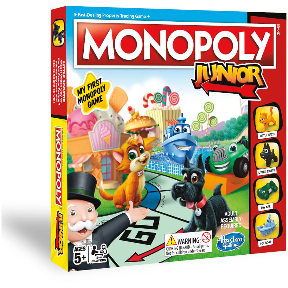 Hasbro Gaming Monopoly Junior Iwoot