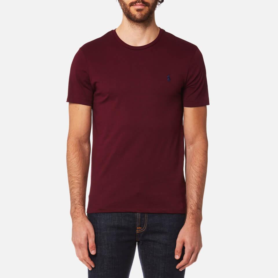 Polo ralph lauren men 39 s custom fit short sleeve t shirt for Polo custom fit t shirts