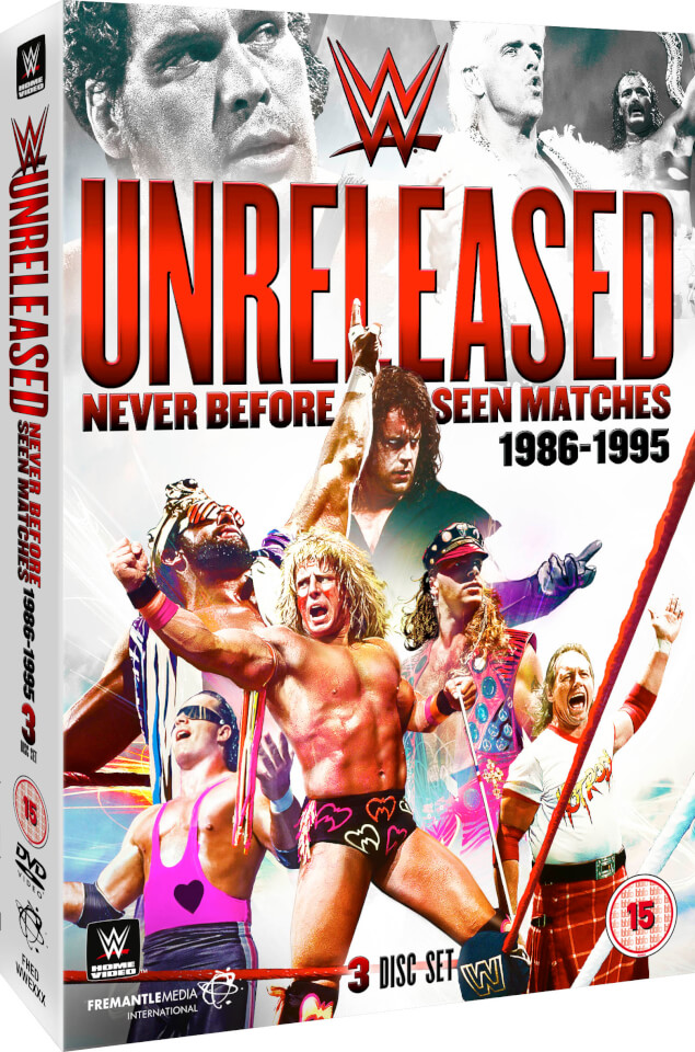 Wwe Unreleased 1986 1995 Dvd Zavvi