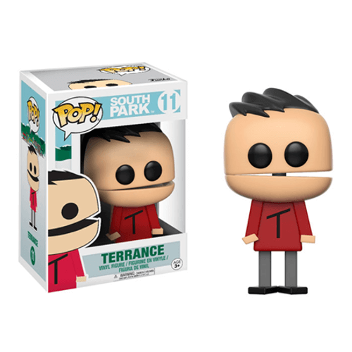 South Park Terrance Pop Vinyl Figure Pop In A Box Us