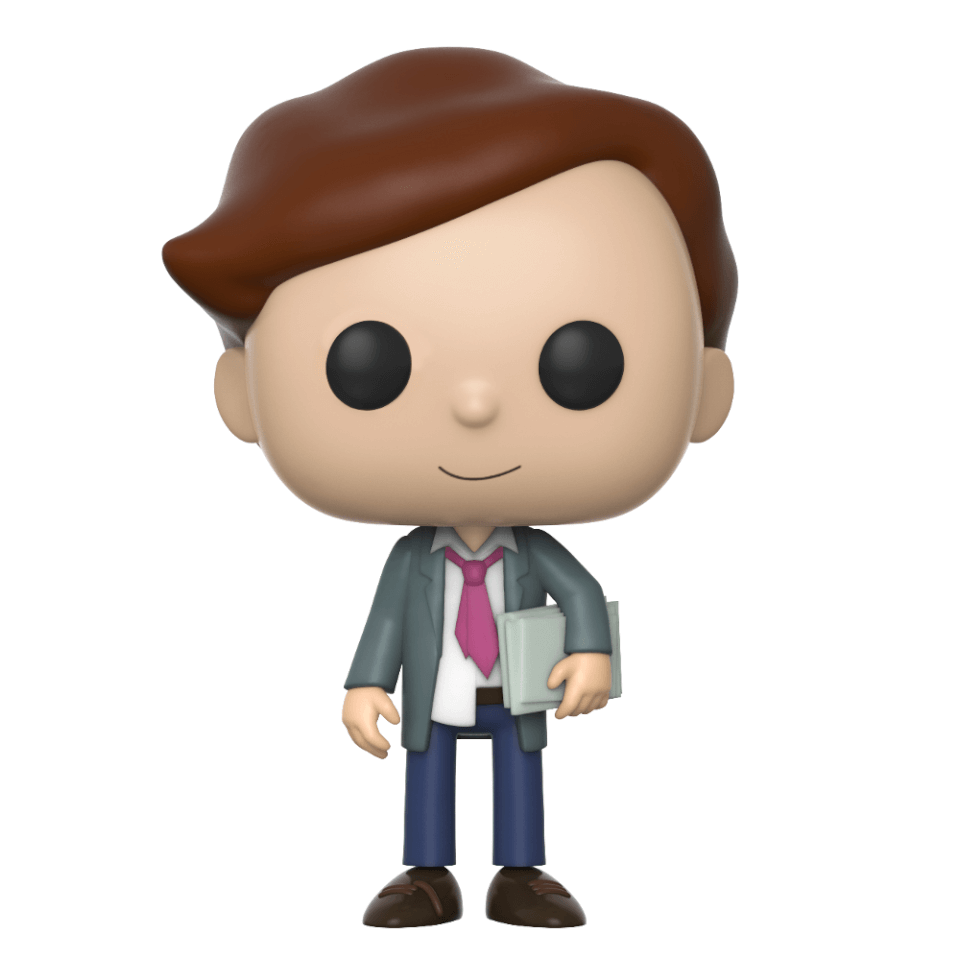 Rick And Morty Lawyer Morty Pop Vinyl Figure Pop In A