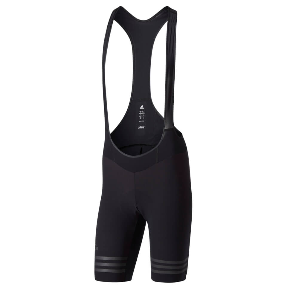 c3d0694e4 adidas Men s Adistar Woven Bib Shorts - Black
