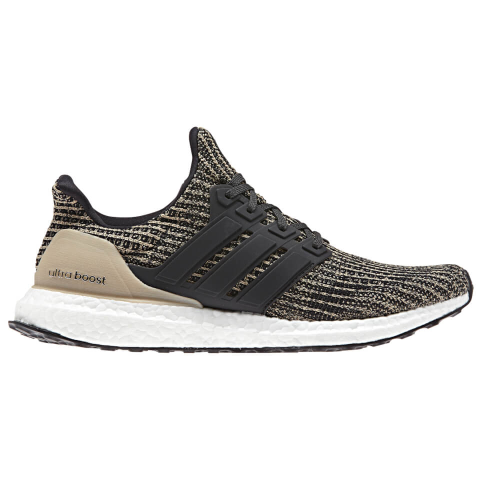 0f2b4e638 adidas Men s Ultraboost Running Shoes - Black Gold Mens Footwear ...