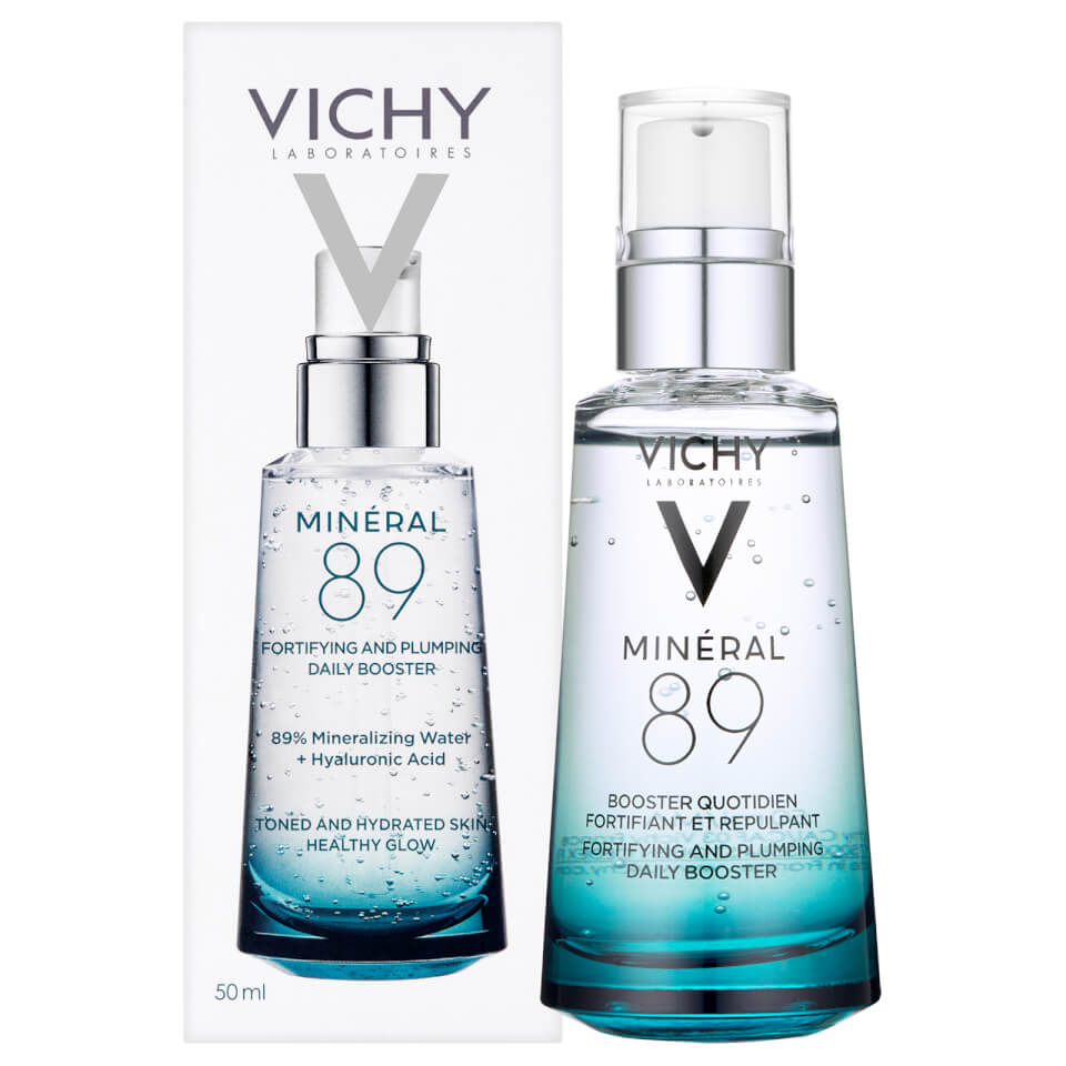 Organic Beauty Products >> Vichy Mineral 89 Serum 50ml | Free Shipping | Lookfantastic