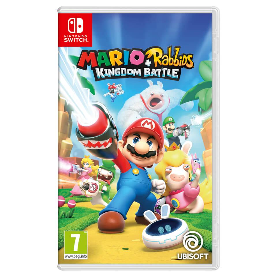 Mario rabbids kingdom battle nintendo official uk store for Housse nintendo switch mario