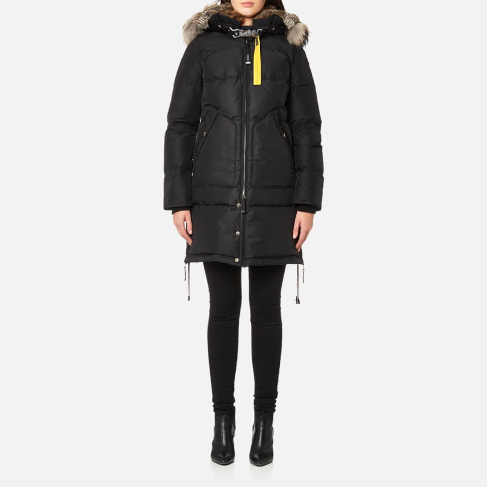 Parajumpers Women's Long Bear Masterpiece Coat - Black - Free UK Delivery over £50