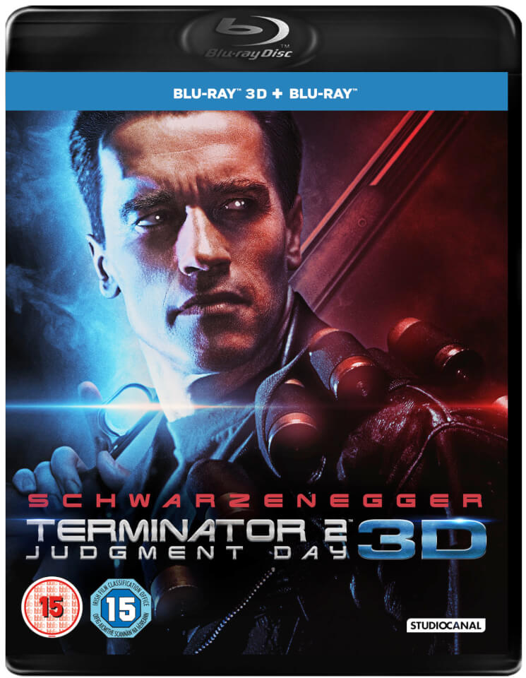 Terminator 2: Remastered 3D (Includes 2D Version) Blu-ray
