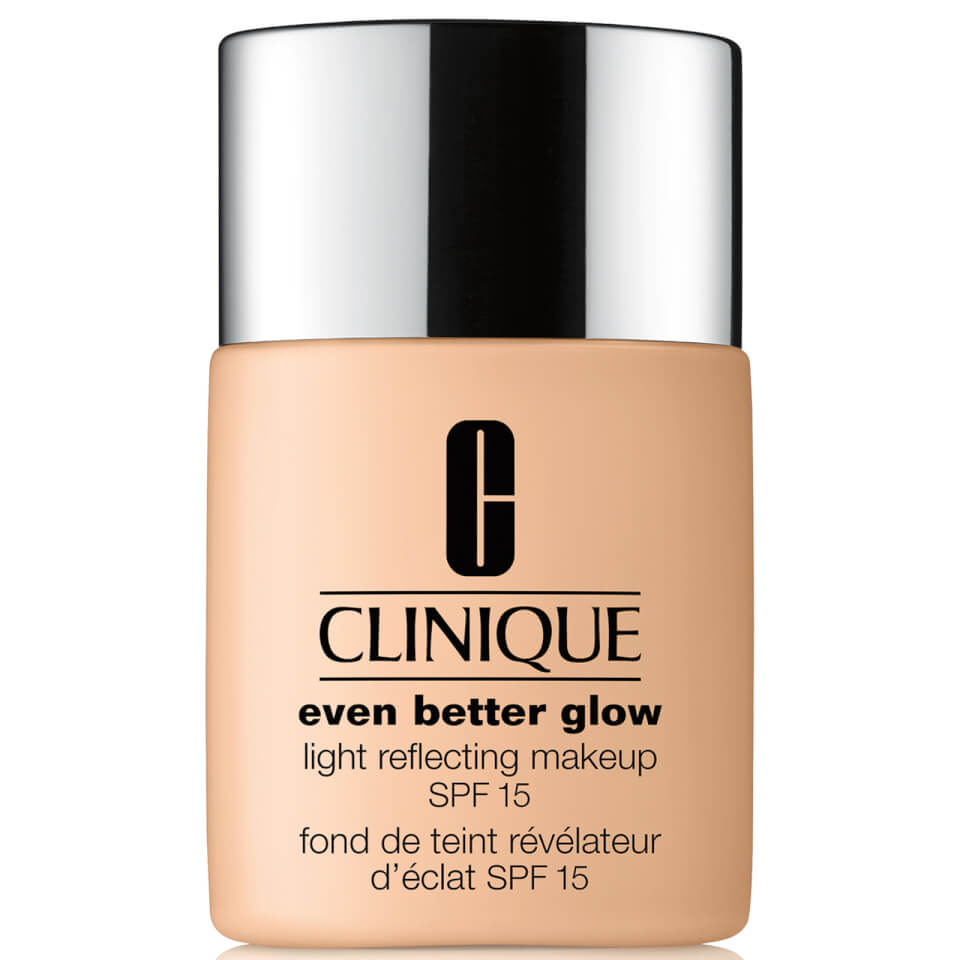 clinique even better glow light reflecting makeup spf15. Black Bedroom Furniture Sets. Home Design Ideas