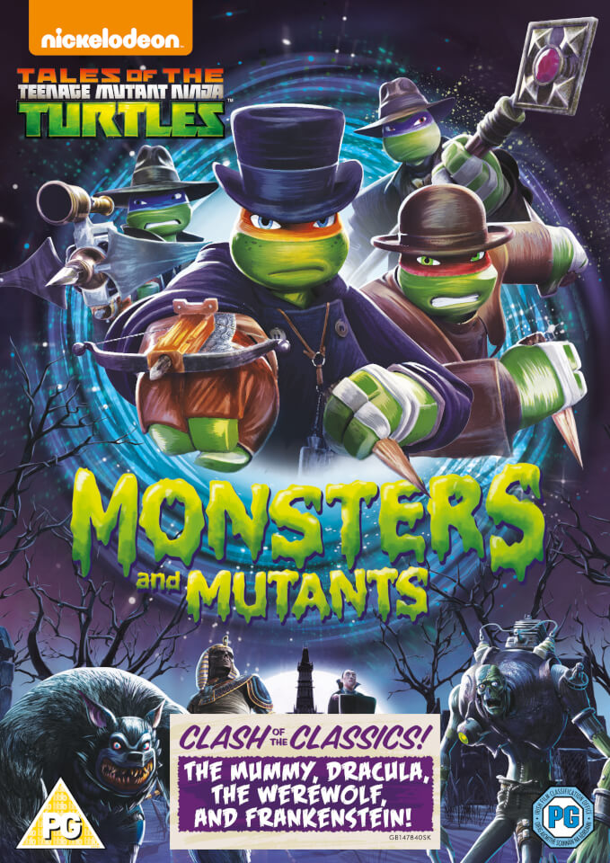 Teenage Mutant Ninja Turtles Monsters And Mutants Dvd Zavvi