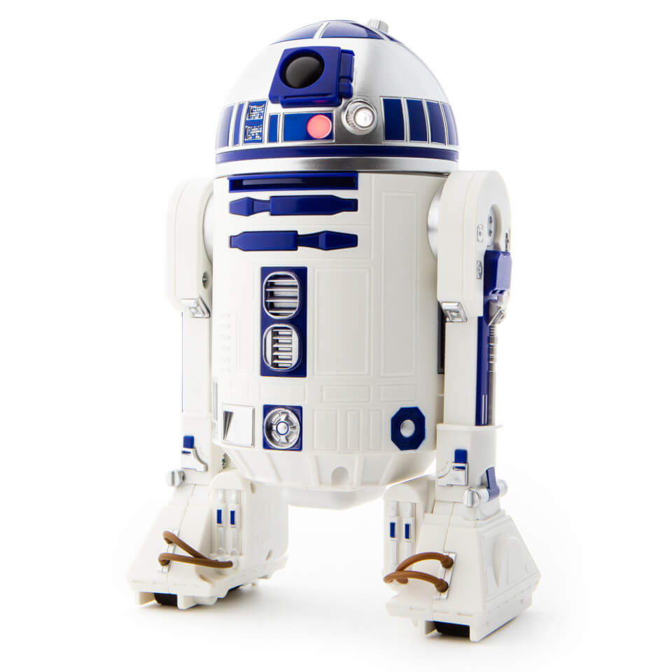 Sphero star wars r2 d2 app enabled droid iwoot - Robot blanc star wars ...