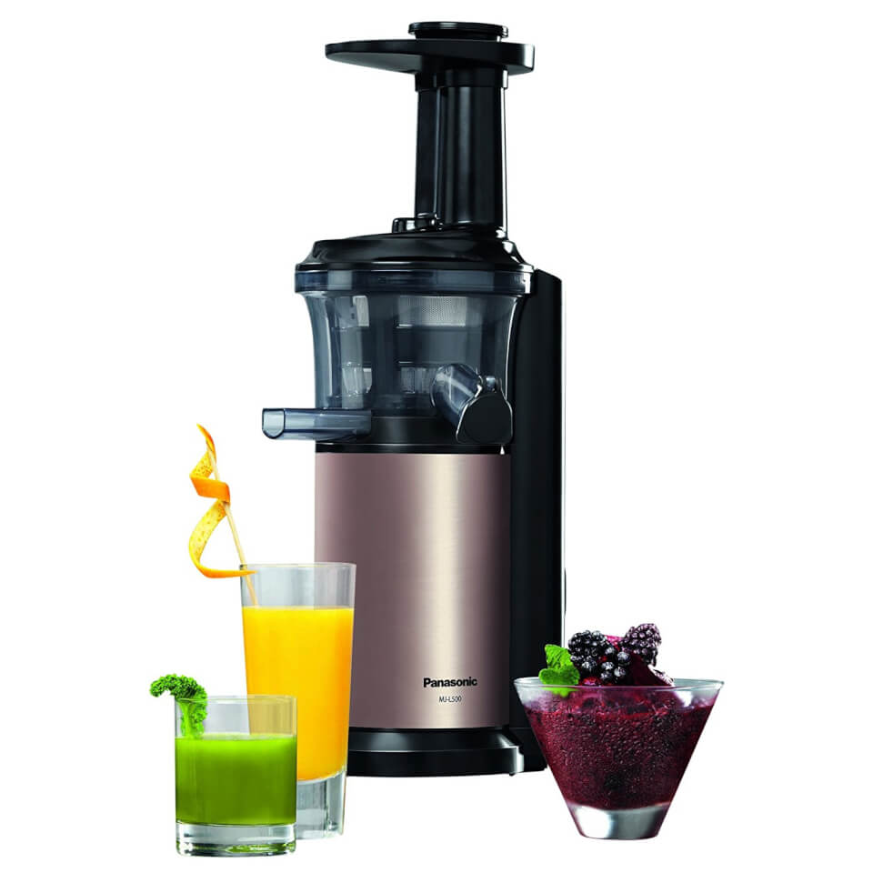 Panasonic MJ-L500NXC 150W Slow Juicer with Frozen Attachment - Gold IWOOT