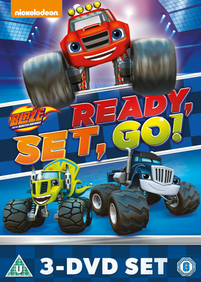 Blaze Amp The Monster Machines Ready Set Go Collection