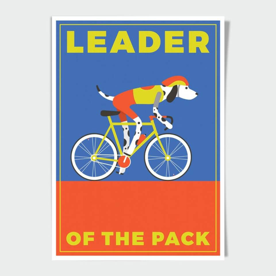 Leader Of The Pack A4 Print | item_misc