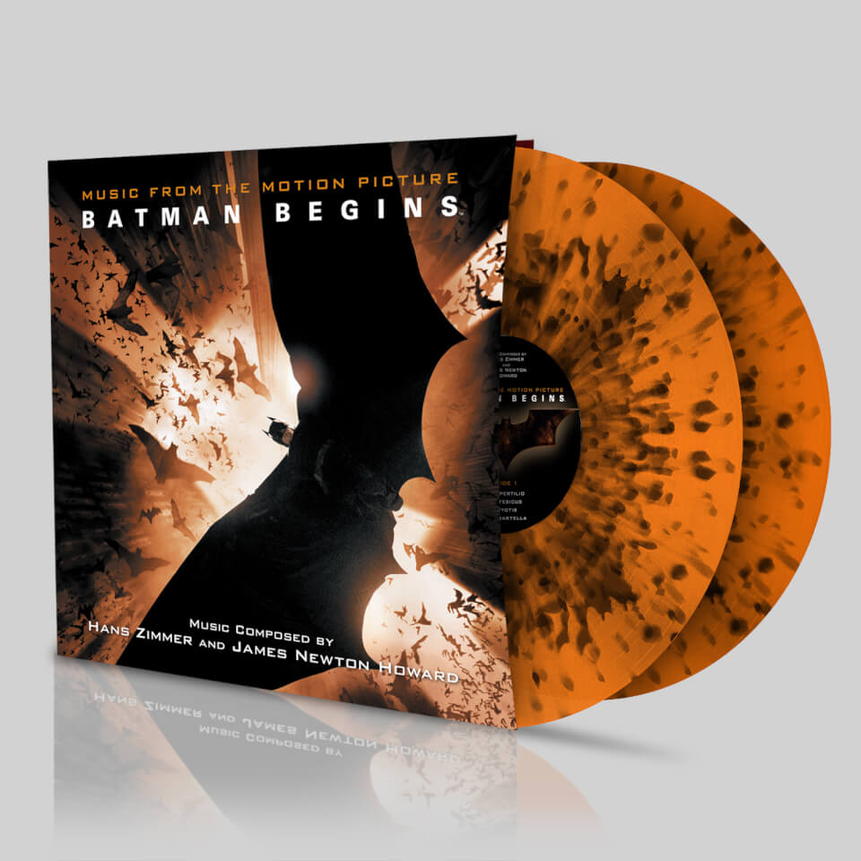 Batman Begins: Soundtrack OST – Zavvi Exclusive - Limited ...