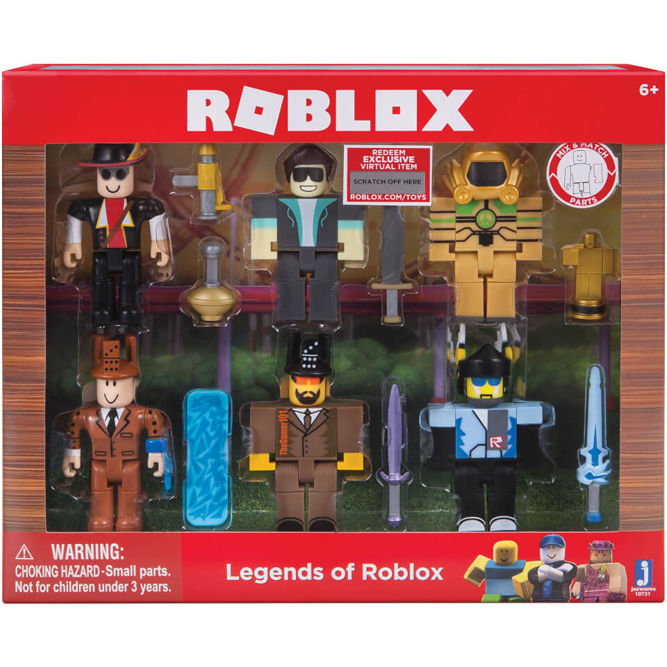 ROBLOX Legends of ROBLOX 6 Pack Figures | IWOOT