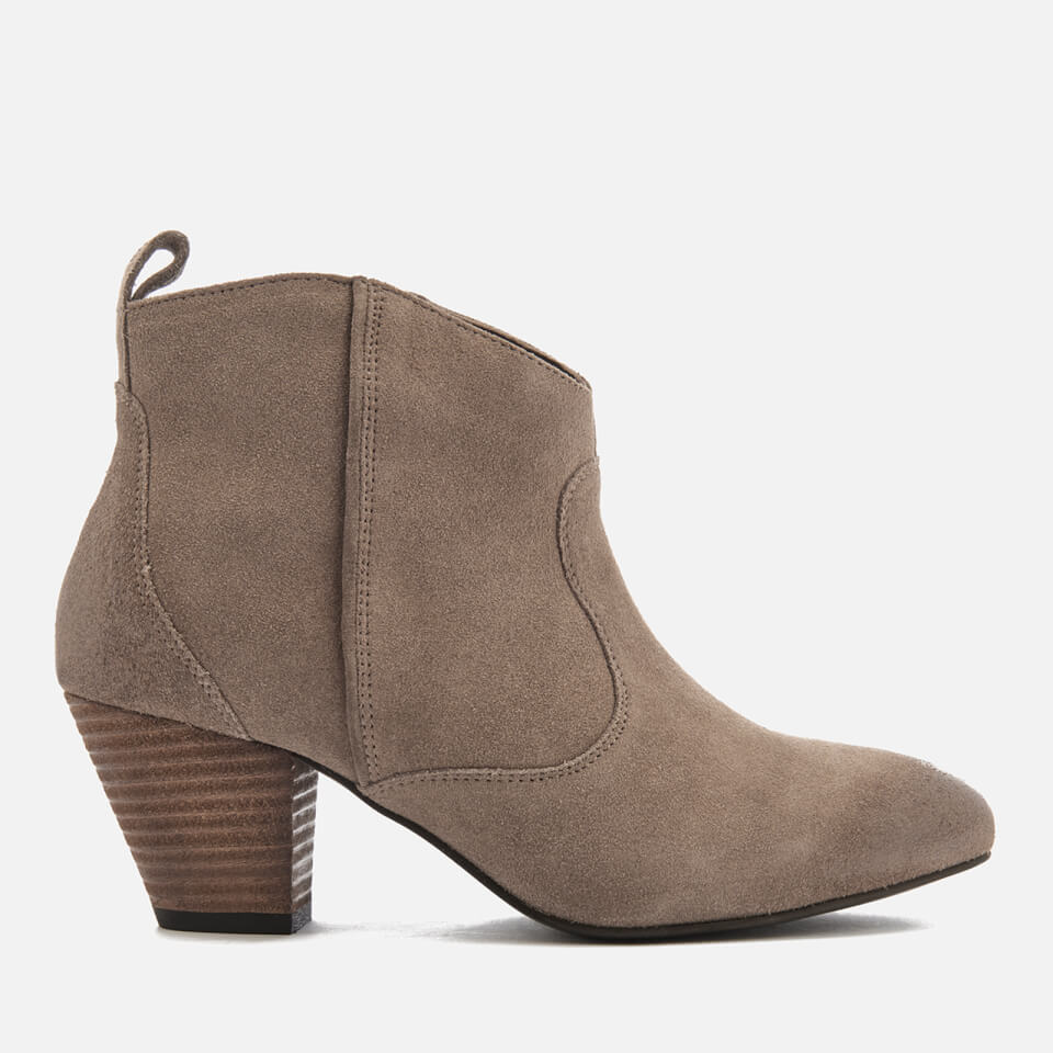Superdry Women S Dallas Ankle Boots Taupe Womens