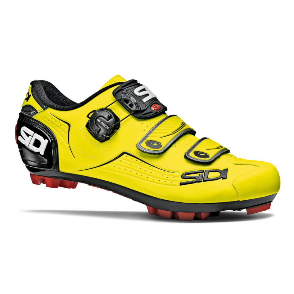 Sidi Trace MTB Shoes - Yellow Fluo/Black | Shoes and overlays