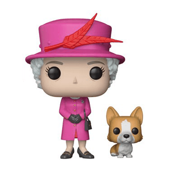Figurine Pop Reine Elizabeth Ii Famille Royale Pop In
