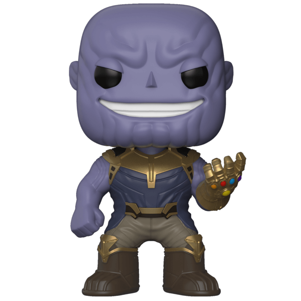 Tee Box UK Thanos Marvel Infinity War Funko Pop!