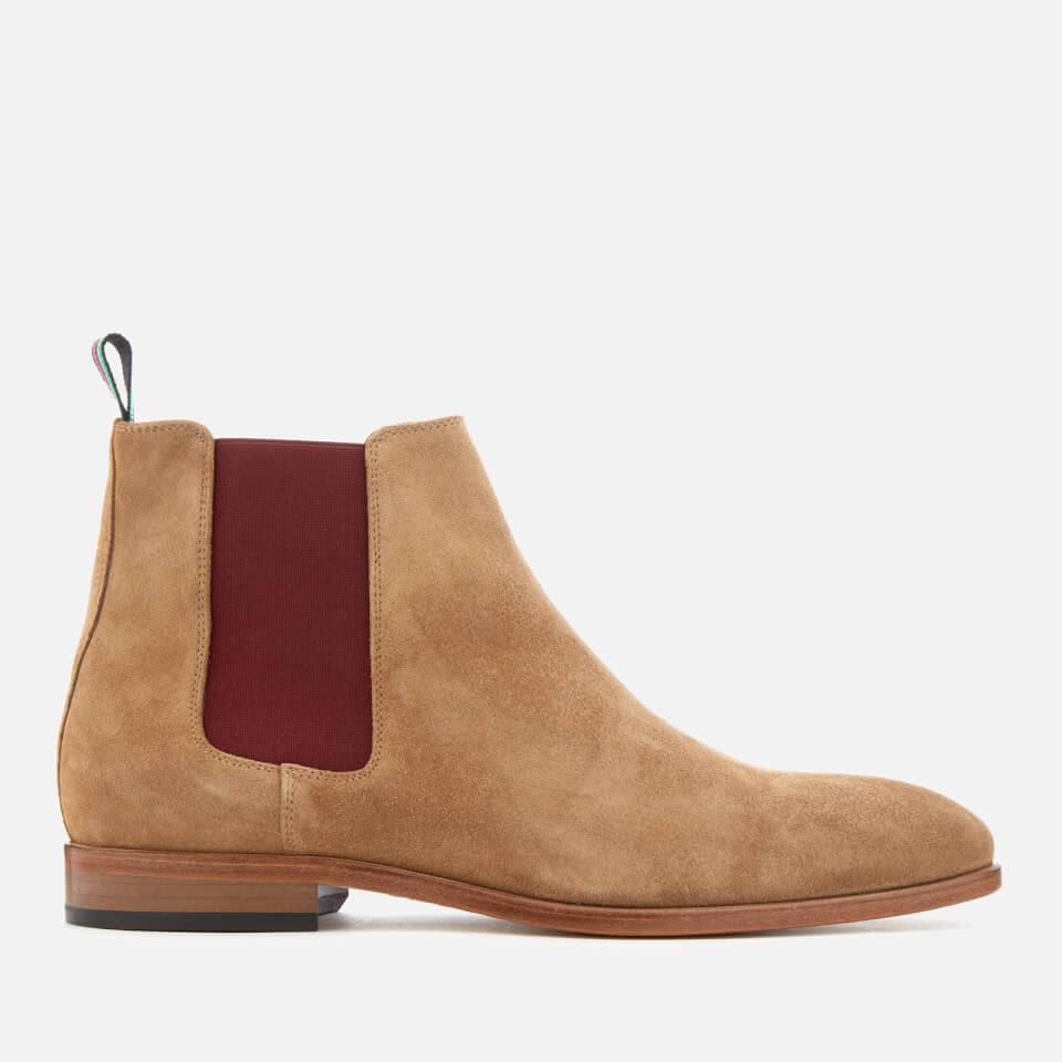 Ps By Paul Smith Men S Gerald Suede Chelsea Boots Camel