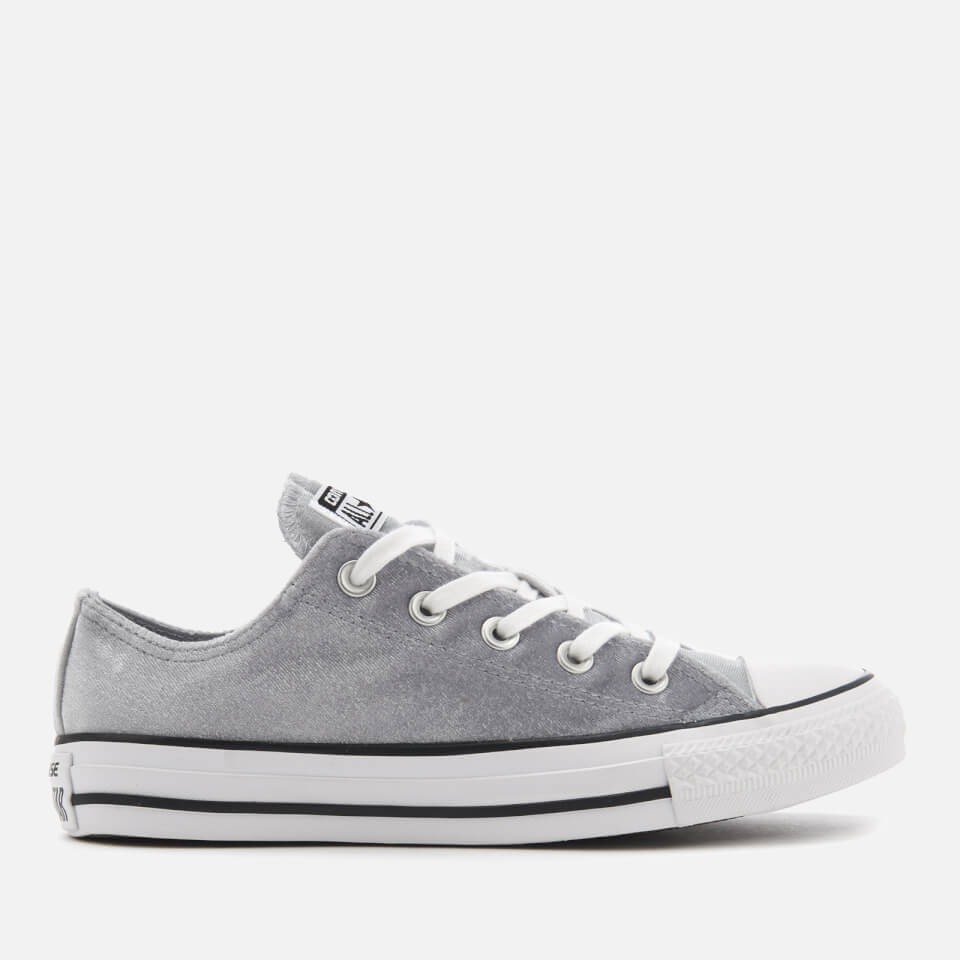Converse Women S Chuck Taylor All Star Ox Trainers Wolf