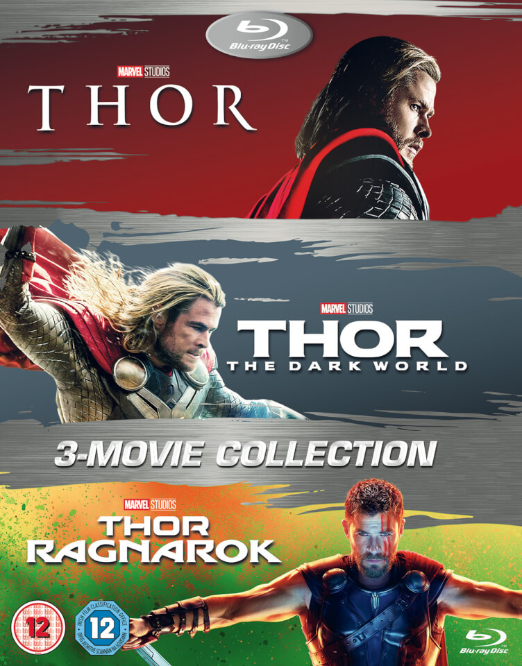 Thor 3 Blu Ray