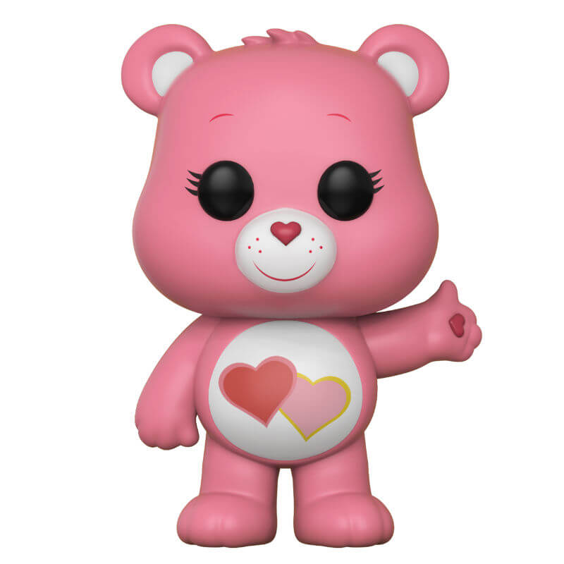 Care Bears Love-A-Lot Bear Pop! Vinyl Figure Merchandise ...