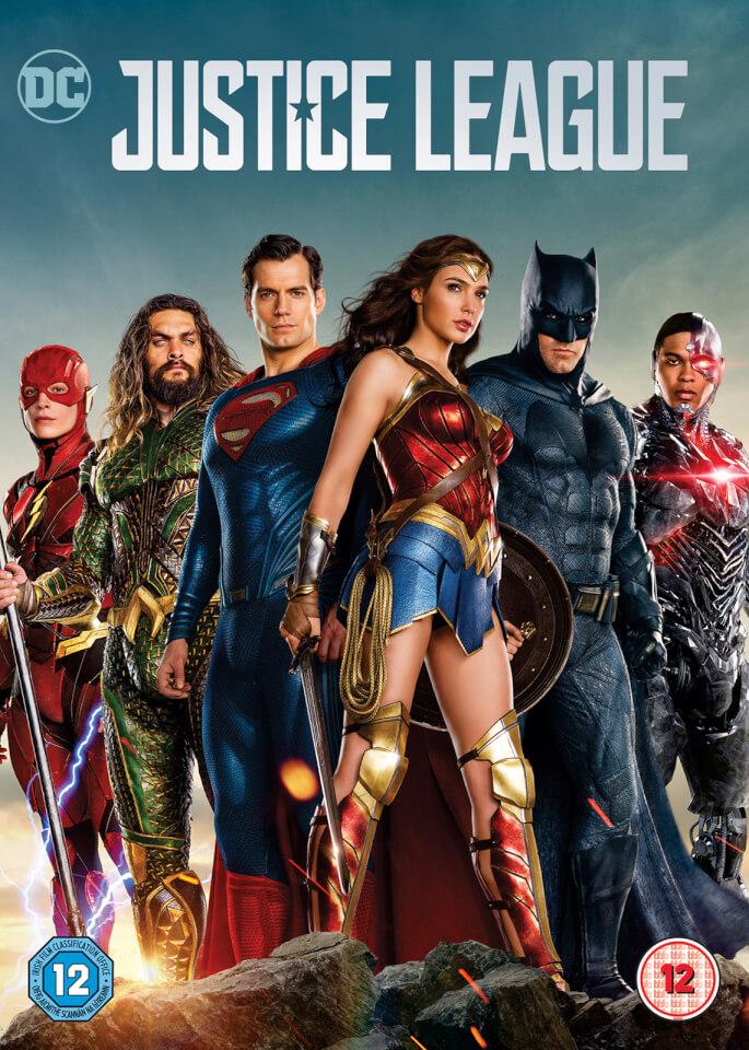 Justice League Digital Download Dvd Zavvi