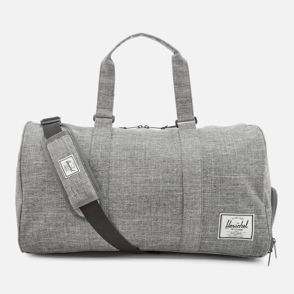 Herschel Supply Co. Men s Novel Duffle Weekend Bag - Raven ... 25cbf853cbb05