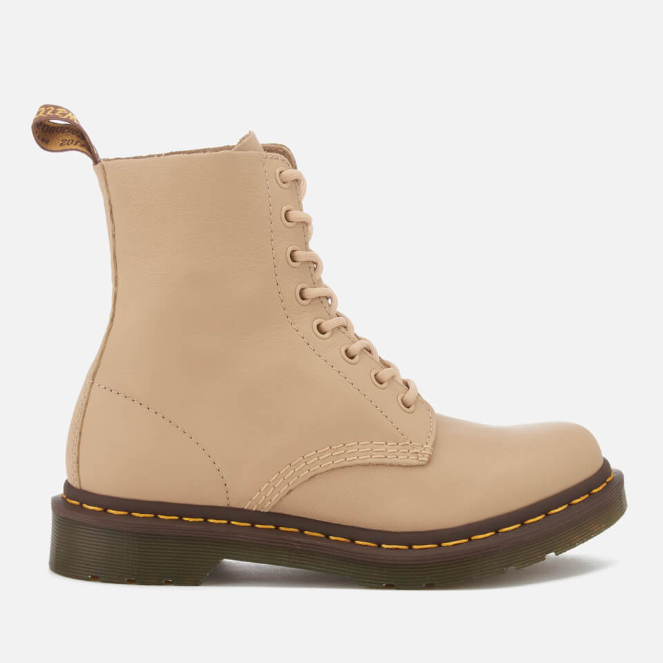 Dr. Martens Women s Pascal 8-Eye Virginia Leather Boots - Nude Womens  Footwear  1b1f6eecfd