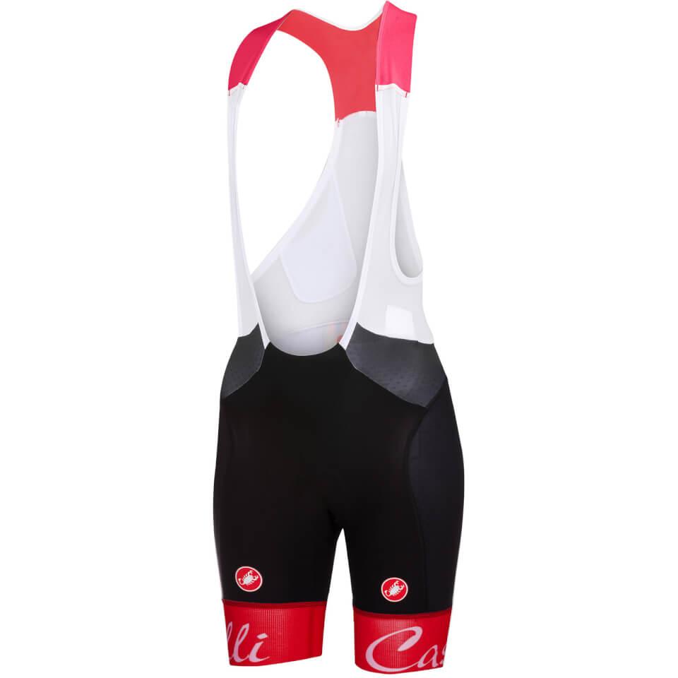 Castelli Women's Free Aero Bib Shorts - Red | Trousers