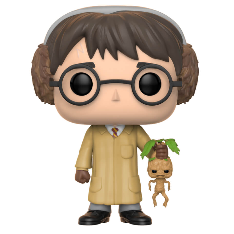 harry potter herbology pop vinyl figure pop in a box uk