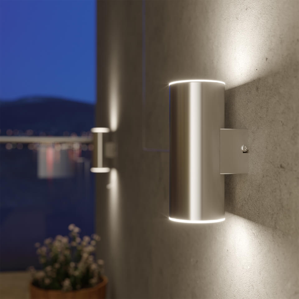 Chester Solar Up And Down Wall Light Homeware Thehut Com