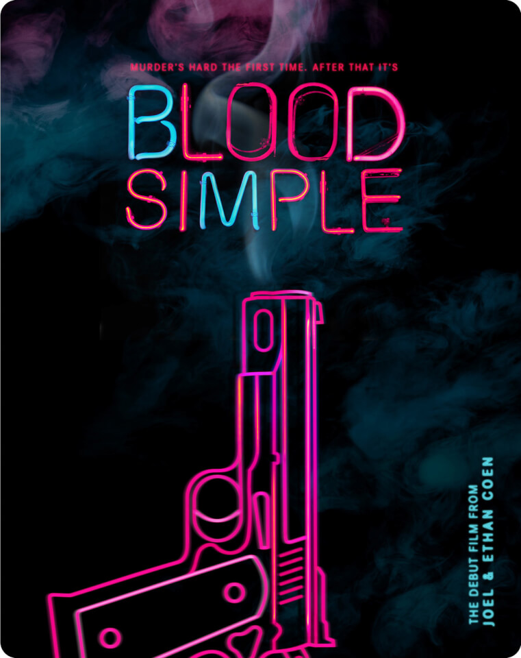 Blood Simple Zavvi Exclusive Limited Edition Steelbook