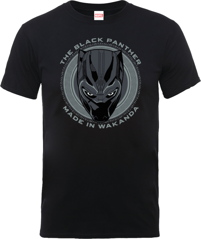 Black Panther Made in Wakanda T-Shirt - Black   Pop In A ...