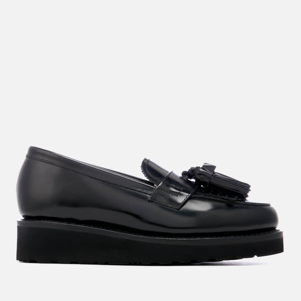 c0a91c065f4 Grenson Women s Clara Hi-Shine Leather Loafers - Black - Free UK Delivery  over £50