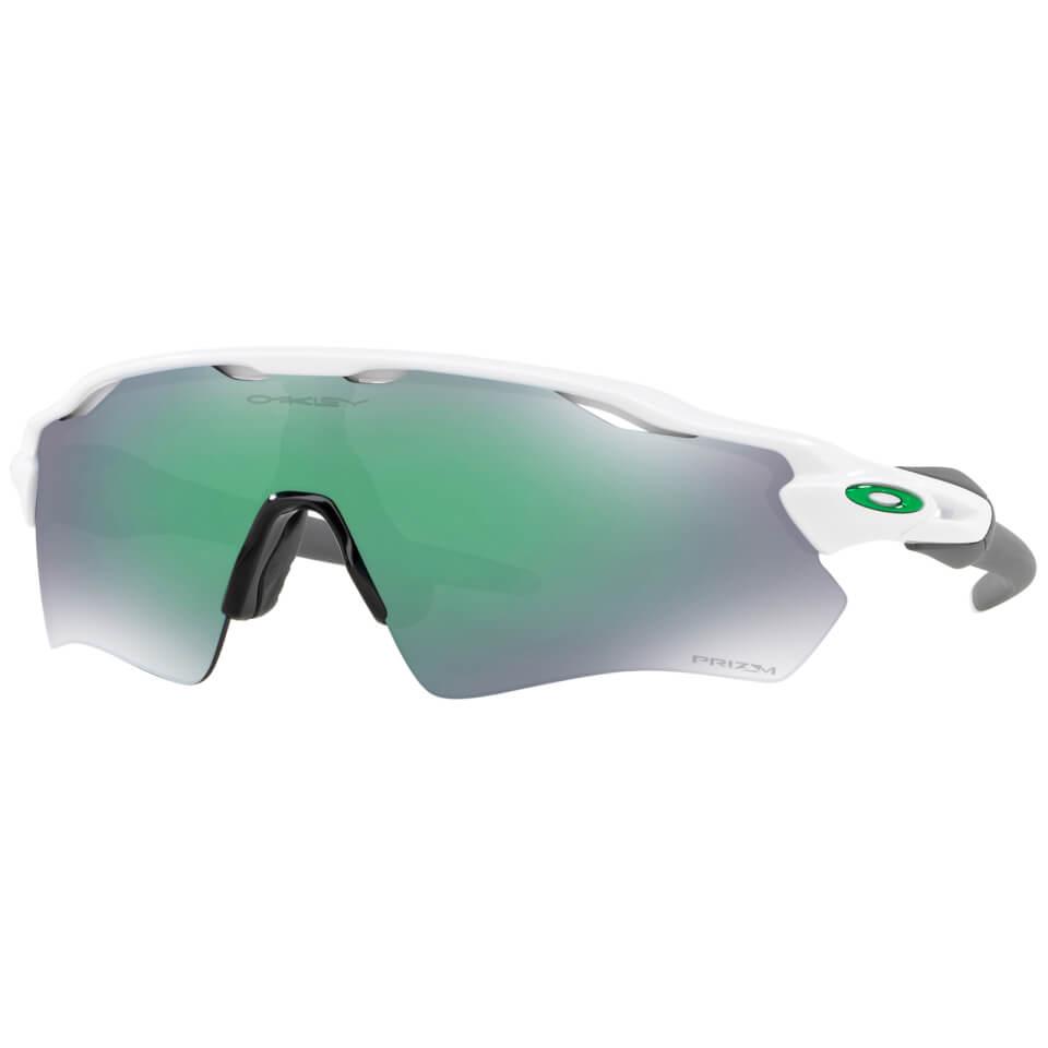 Oakley Radar EV Path Sunglasses - Polished White/Prizm Jade   Glasses