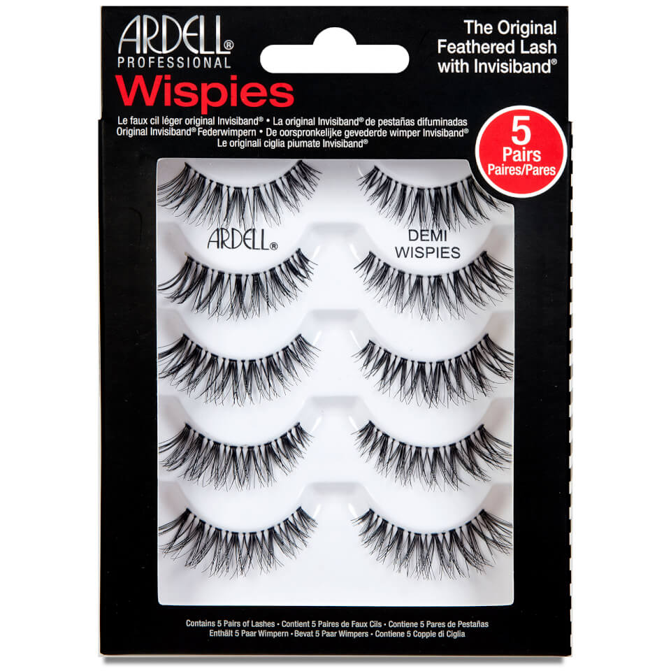 7f0d13a6aa9 Ardell Multipack Demi Wispies False Eyelashes x 5 | Free Shipping |  Lookfantastic