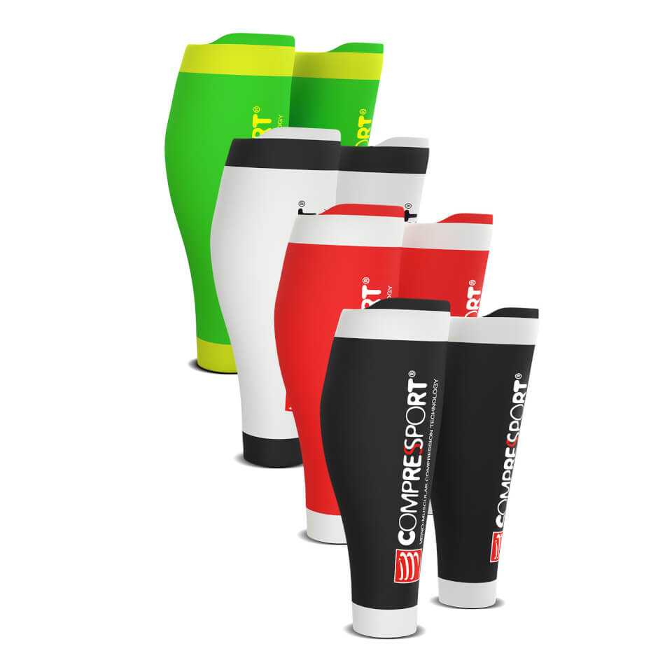 Compressport R2v2 Race and Recovery Calf Guard | Compression