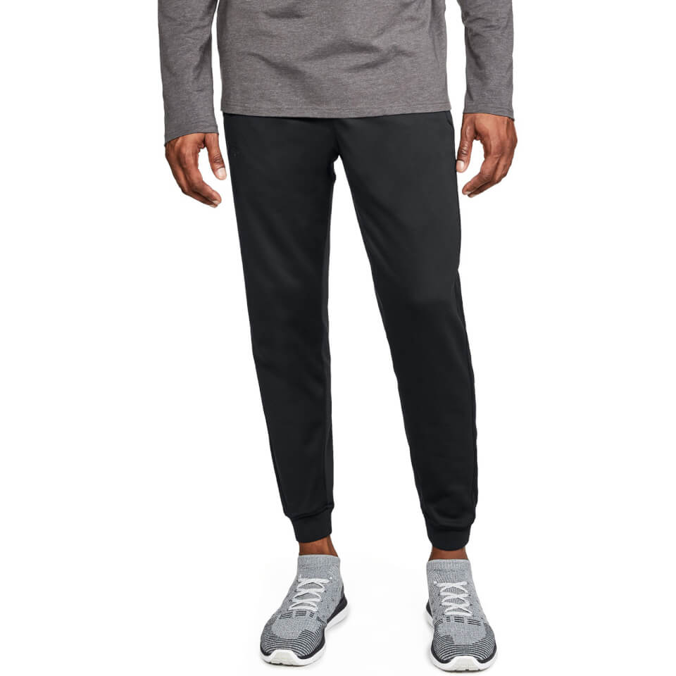 Under Armour Fleeced Joggers - Black | Amour