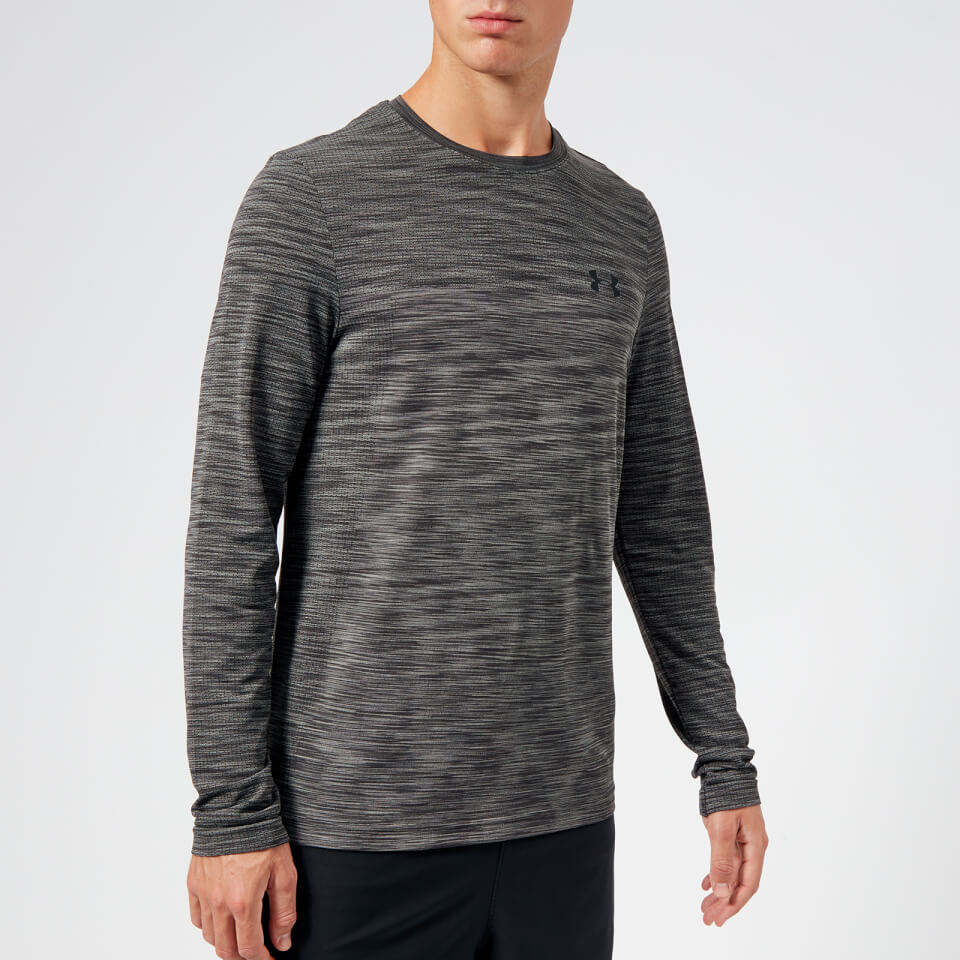 21aa16c5479e2 Under Armour Men s Vanish Seamless Long Sleeve Top - Charcoal Sports    Leisure