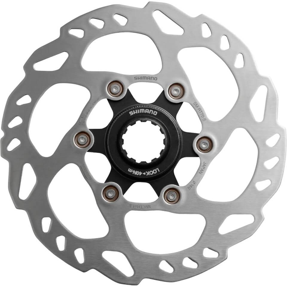 Shimano 105 SM-RT70 IceTech Disc Rotor - 140mm | Brake pads
