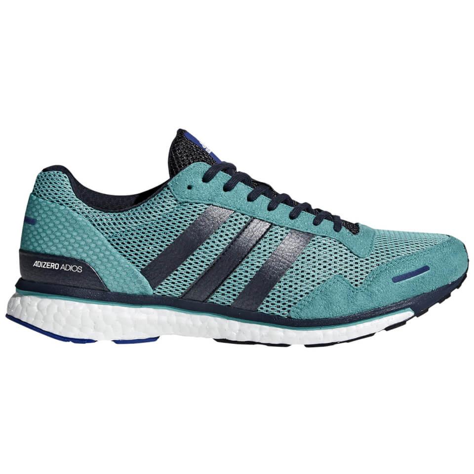9c14aeb01 adidas Adizero Adios 3 Running Shoes - Aqua/Ink | ProBikeKit.com