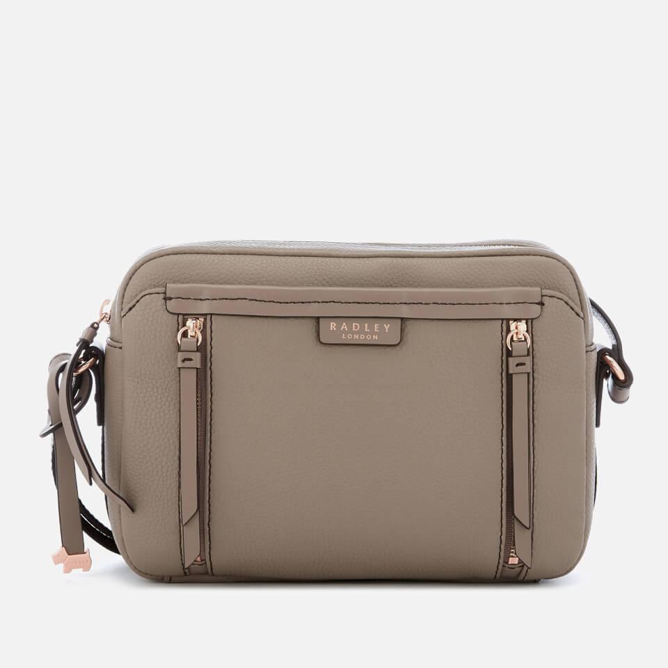 857792d87674 Radley Women s Penhurst Medium Zip-Top Cross Body Bag - Mink