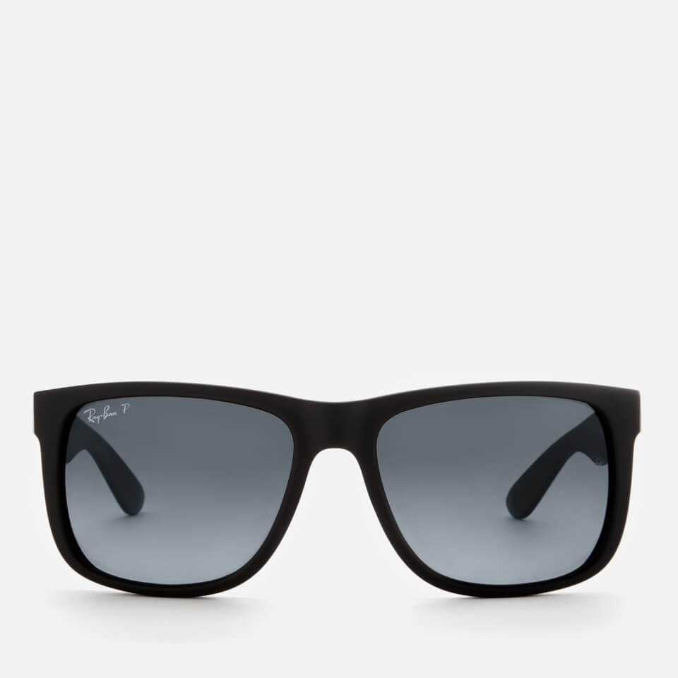 Ray Ban Men S Justin Square Frame Sunglasses Black
