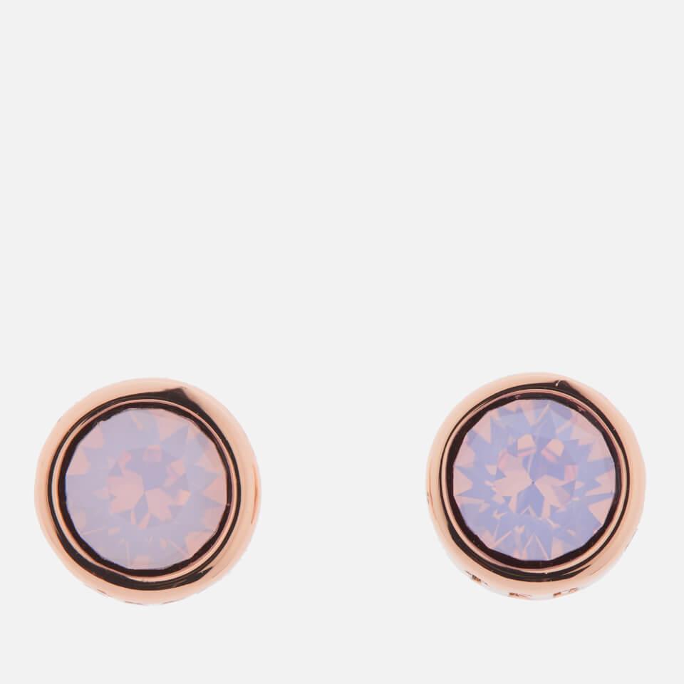 54159c55a Ted Baker Swarovski Crystal Heart Stud Earrings Rose Gold - Best All ...