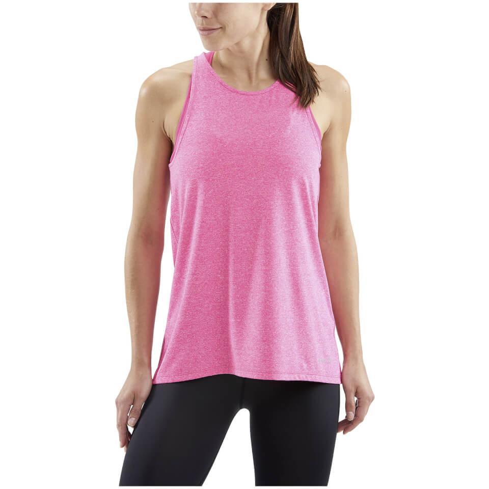Skins Women's Siken Sports Tank Top - Pink Marle | Trøjer